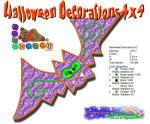 Halloween Decorations 12 4x4