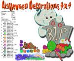 Halloween Decorations 1 4x4