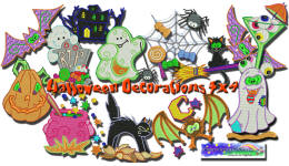 Halloween Decorations  4x4