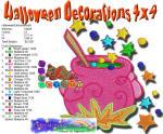 Halloween Decorations 8 4x4