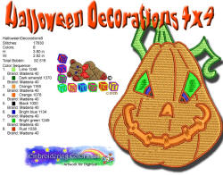 Halloween Decorations 9 4x4