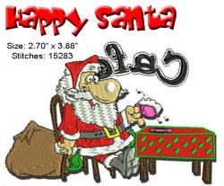 Happy Santa 4x4