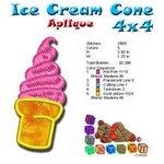 Ice Cream cone Beach Collection 4x4
