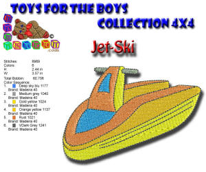 Toys for the Boys JetSki 4x4