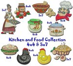 Kitchen and Food Collection 4x4 5x7