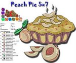Peach Pie 5x7