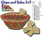 Salsa Chips 5x7