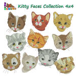 Kitty Faces 4x4