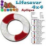 Life Saver Beach Collection 4x4