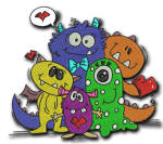 Love Monster 5x7
