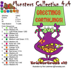 Monster Collection 4x4 Trick or Treat 10