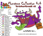 Monster Collection 4x4 Trick or Treat 2