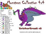 Monster Collection 4x4 Trick or Treat 3