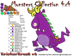 Monster Collection 4x4 Trick or Treat 4