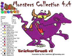 Monster Collection 4x4 Trick or Treat 7