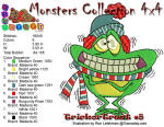 Monster Collection 4x4 Trick or Treat 8