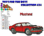 Toys for the Boys Mustang 4x4