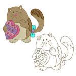 My Heart Gift Cat 09