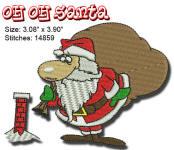 OH OH Santa 4x4