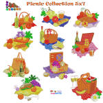 Picnic Collection 5x7