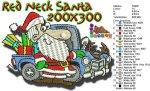 Red Neck Santa 200x300