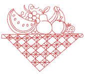 Redwork Tablecloths 5 4x4