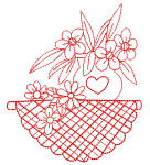 Redwork Tablecloths 7 4x4