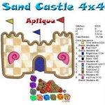 Sand Castle Beach Collection 4x4