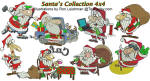Santas Collection 4x4