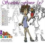 Scarlette Flower 5x7 All Formats