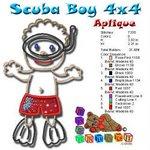 Scuba Boy Beach Collection 4x4