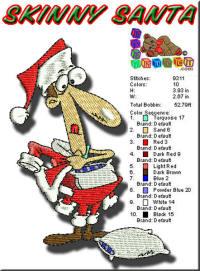 Skinny Santa 4x4