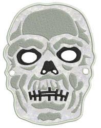 Skull Mask 5x7