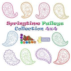 Springtime Paisleys Collection