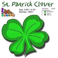 St Patrick Clover 4x4