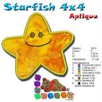 Starfish Beach Collection 4x4