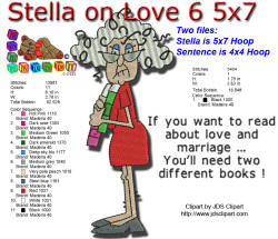 Stella on Love Two Books 5x7