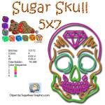 Sugar Skull 5x7