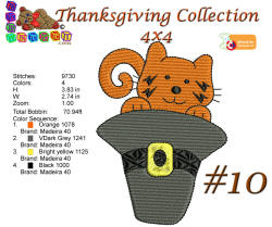 Thanksgiving Collection 10 4x4