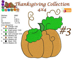 Thanksgiving Collection 3 4x4