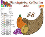 Thanksgiving Collection 8 4x4