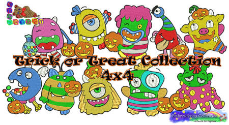 Trick or Treat Collection 4x4