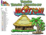 Summer Vacation - Vacation  5x7