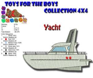 Toys for the Boys BoysYacht 4x4